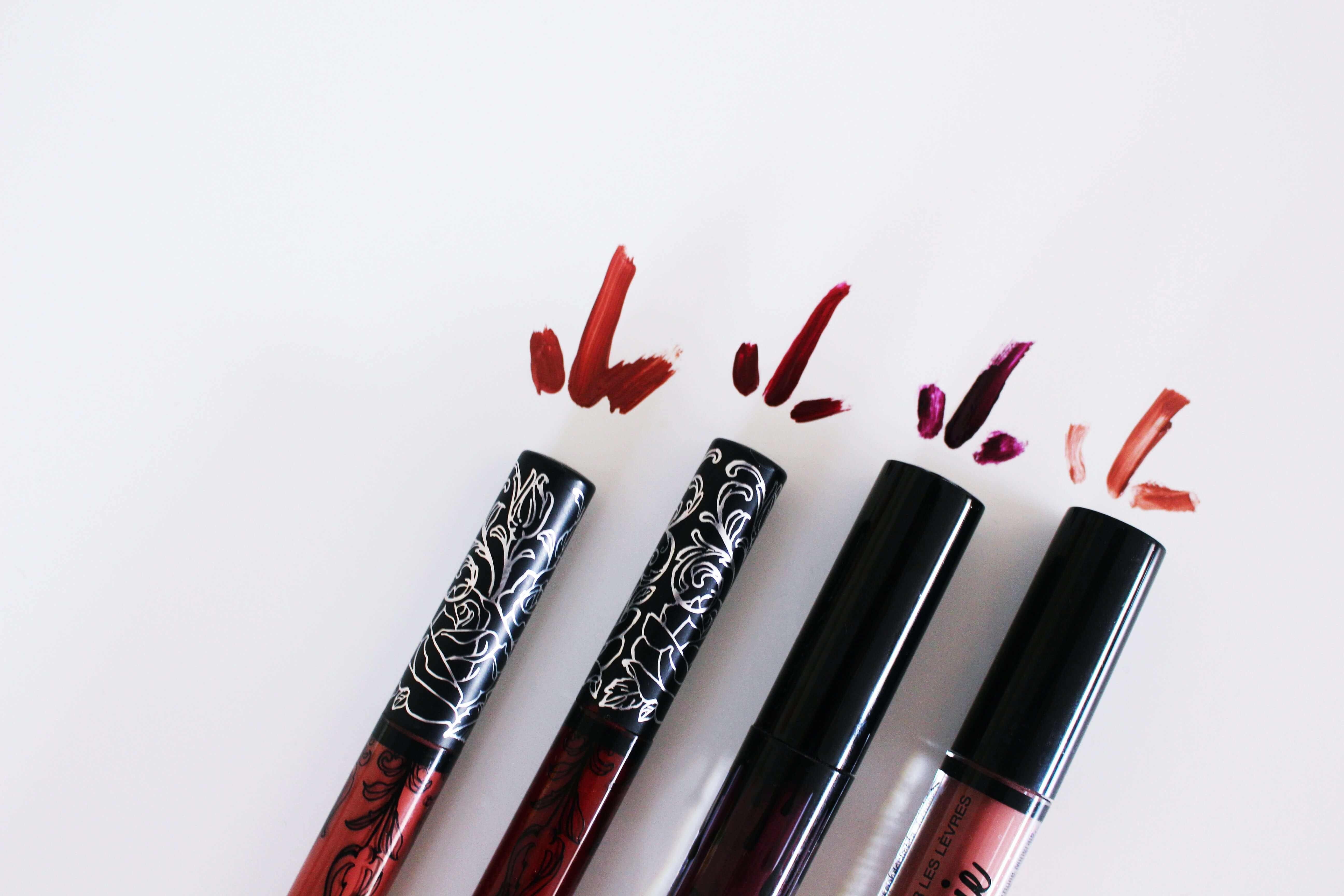 Mes rouges à lèvres mattes